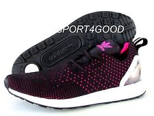 ADIDAS ZX FLUX ADV ASYMMETRICAL PRIMEKNIT CORE BLACK PINK MEN SZ 12 [S79063]