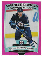 2019-20 David Gustafsson O-Pee-Chee OPC Platinum Matte Pink Marquee Rookie Jets