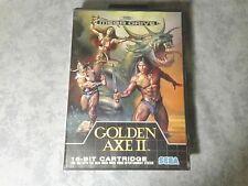 GOLDEN AXE II 2 - SEGA MEGA DRIVE 16 BIT PAL EU EUR ITA ITALIANO - BOXATO BOXED