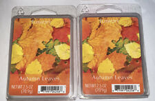 Fusion AUTUMN LEAVES Highly Fragranced Wax Cubes 2.5 Oz Lot Of 2