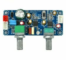 Filter Bass Volume Adjustment Sub-woofer Single Powers Pre-amplifiers Boards New