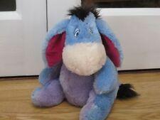 "Quality Lge 10"" Eeyore Disney Store Winnie The Pooh Plush Soft Toy Heavy Beanies"