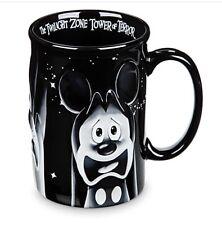 DISNEY PARKS MICKEY & FRIENDS TWILIGHT ZONE TOWER OF TERROR COFFEE MUG NIB GIFT