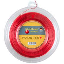 Kirschbaum Pro Line II (Red) 1.25mm/17 200m/660ft Tennis String Reel