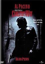 Carlito's Way With Al Pacino DVD Region 1 025192145926