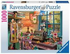 RAVENSBURGER JIGSAW PUZZLE THE SEWING SHED STEVE READ 1000 PCS #19892