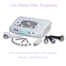 Diamond Dermabrasion Skin Scrubber Ultrasonic Hammer Facial Anti Aging Equipment