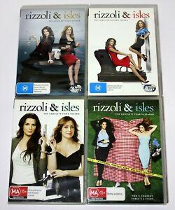 Rizzoli & Isles Complete Seasons 1-4 DVD Set