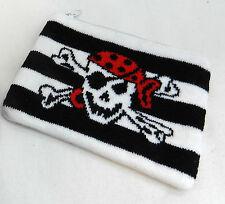 Pirate / Skull and Crossbones Knitted Purse  - BNIB