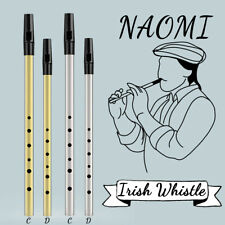 Traditional Irish Tin Whistle Penny Whistle In The Key Of C / D Irish Whistle
