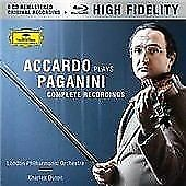 Accardo Plays Paganini - The Complete Recordings, Salvatore Accardo, Audio CD, N