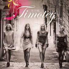 CD SINGLE EUROVISION 2010 Suede Preselection : TIMOTEIJ Kom 1-track CARD SLEEVE