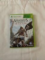 Assassins Creed IV Black Flag Microsoft Xbox 360 **FREE SHIPPING**