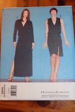 Vogue Pattern Donna Karan New York #2555 Size 12-14-16, Misses' Top & Skirt