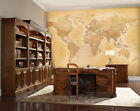 315 x 232cm Wall mural photo wallpaper Old Map of the World | glue not included