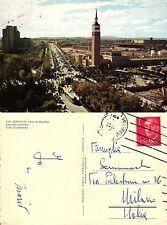 CARTOLINA POSTCARD V.TA  N. 706  ZARAGOZA - FERIA DE MUESTRAS          SOUVENIR
