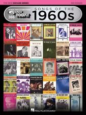 E-Z PLAY TODAY #366 Songs Of The 1960s - New Decade Series Piano *NEW* Music