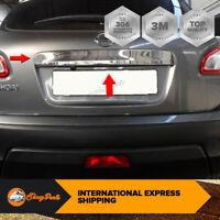 Per Nissan Qashqai J10 Cromo Posteriore Baule Portellone Bagagliaio Copertura S.