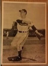BOB FELLER CLEVELAND INDIANS VINTAGE  TEAM ISSUE PHOTO