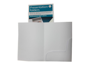 A4 Presentation Project Folders 5 Pack Card Paper Organiser Holder Cathedral