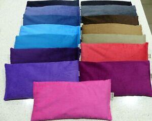 Wheat Bag Lupin Heat Pack 34 x 17 cm Corduroy 1.2 kg CHOOSE colour.CHOOSE scent