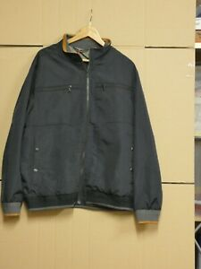 """M&S Jacket BLACK  - 2XL 47""""-49"""" chest RRP £59 Bomber style Blue Harbour NWT"""