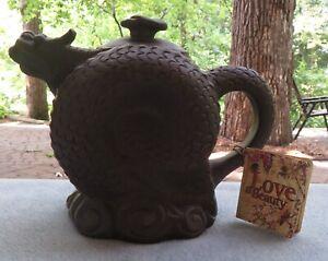 Teavana Traditional Chinese Sea Dragon Teapot Mint w Tag  $49.95