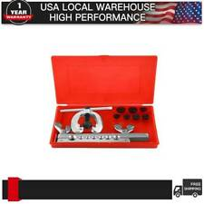 ISO/Bubble Flaring Tool Kit 9 Piece   Includes Blow-Molded Case W/ Mini Cutter