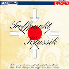 DENON > V.A.- Treffpunkt Klassik -Grieg Mozart Mahler Haydn 💿 CD