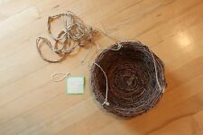 Rare New Pottery Barn Kids Penelope Hanging Birdnest Bird Nest