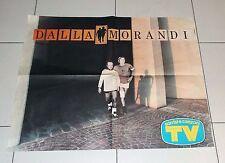 Manifesto DALLA MORANDI POSTER Affiche PROMO Tour Concerto 1988 Lucio Gianni