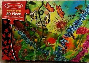 """World of Bugs"" Melissa & Doug 60 Piece Jigsaw Puzzle"