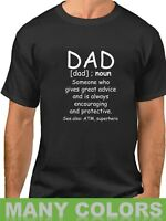 Dad Definition Shirt Funny Father's Day Gift Grandpa Fathers T-Shirt Humor Tee