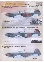 AML Decals 1//72/_ Yakovlev Yak 1 /& 7