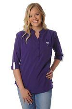 NWT UG Apparel Kansas State University Wildcats Women's Button Down Tunic Size L