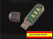 LAMPARA LINTERNA PARA PORTATIL U ORDENADOR USB LUZ BLANCA MUY FUERTE COCHE BOTE