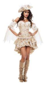 Starline Ghost Pirate Halloween Sexy Womens Costume L 12