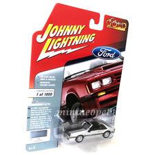 JOHNNY LIGHTNING JLSP038 1982 FORD MUSTANG GT 1/64 DIECAST MODEL SILVER POLY