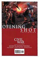 2006 Civil War Opening Shot Sketchbook from Marvel Comics