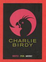 Publicité - Charlie Birdy Restau   (B8651)
