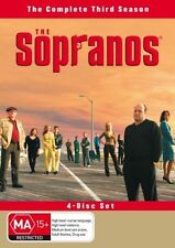THE SOPRANOS - SEASON THREE - DVD - 4 DISCS - LIKE NEW