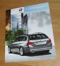 BMW 3 Series E91 Touring Brochure 2009 325i 330i 318d 320d 330d 335d SE M Sport