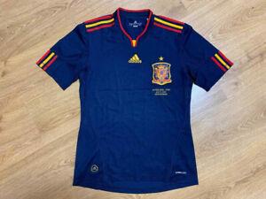 Spain 2010/2011 Away Football Shirt Jersey Camiseta Adidas Rare Size S Adult