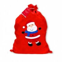 Large Christmas Santa Sack Xmas Felt Gift Present Stocking Bag Filler 50 x 60cm