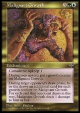 MTG 1x MALIGNANT GROWTH - Mirage *Rare Enchantment NM*