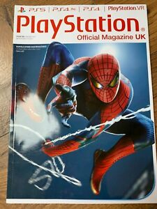 Official PlayStation Magazine Jan 2021 Spider-Man Remastered Subscriber Cover