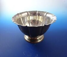 Sterling Silver Bowl with Scalloped Edging Irish Reproduction
