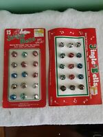 Vintage Jingle Bells 2 Cards Of 15