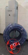 Pellet- Saugsystem Pelletsaugbehälter mit Maulwurf, Pelletlager