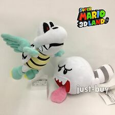 2X Super Mario Bros Plush Flying Winged Dry Bones Tail Boo Soft Toy Doll Teddy
